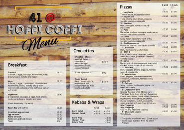 41@HoffiCoffi menu